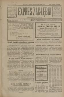 Expres Zagłębia : organ demokratyczny niezależny. R.3, nr 233 (7 października 1928)