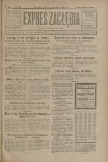 Expres Zagłębia : organ demokratyczny niezależny. R.3, nr 235 (10 października 1928)