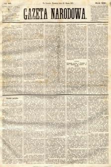 Gazeta Narodowa. 1874, nr67