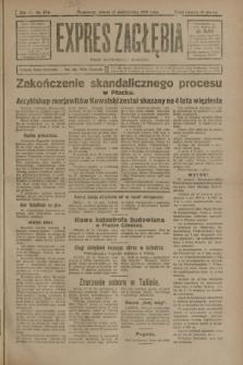 Expres Zagłębia : organ demokratyczny niezależny. R.3, nr 238 (13 października 1928)