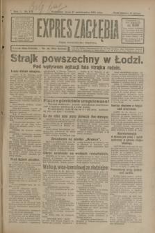 Expres Zagłębia : organ demokratyczny niezależny. R.3, nr 241 (17 października 1928)
