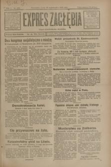 Expres Zagłębia : organ demokratyczny niezależny. R.3, nr 255 (31 października 1928)