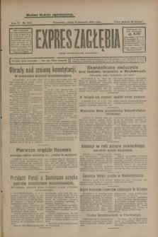 Expres Zagłębia : organ demokratyczny niezależny. R.3, nr 263 (9 listopada 1928)