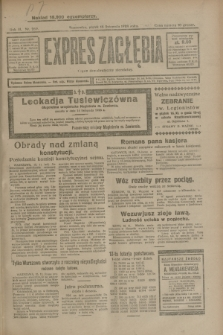 Expres Zagłębia : organ demokratyczny niezależny. R.3, nr 269 (16 listopada 1928)