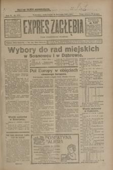 Expres Zagłębia : organ demokratyczny niezależny. R.3, nr 272 (19 listopada 1928)