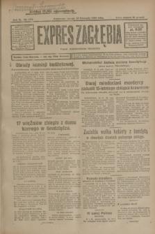 Expres Zagłębia : organ demokratyczny niezależny. R.3, nr 273 (20 listopada 1928)