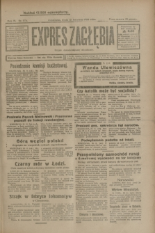 Expres Zagłębia : organ demokratyczny niezależny. R.3, nr 274 (21 listopada 1928)