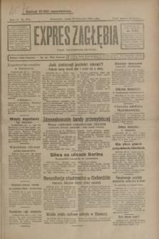 Expres Zagłębia : organ demokratyczny niezależny. R.3, nr 276 (23 listopada 1928)