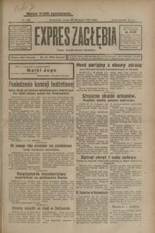 Expres Zagłębia : organ demokratyczny niezależny. R.3, nr 281 (28 listopada 1928)