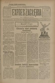 Expres Zagłębia : organ demokratyczny niezależny. R.3, nr 283 (30 listopada 1928)