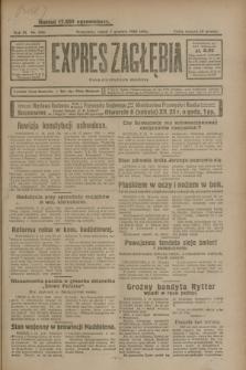 Expres Zagłębia : organ demokratyczny niezależny. R.3, nr 290 (7 grudnia 1928)