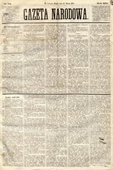Gazeta Narodowa. 1874, nr70