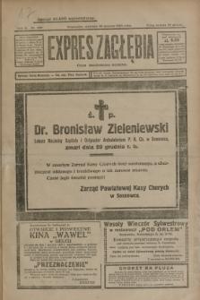 Expres Zagłębia : organ demokratyczny niezależny. R.3, nr 309 (30 grudnia 1928)