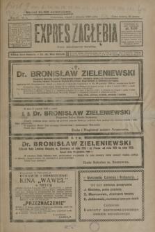 Expres Zagłębia : organ demokratyczny niezależny. R.4, nr 1 (1 stycznia 1929)