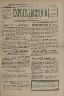 Expres Zagłębia : organ demokratyczny niezależny. R.4, nr 2 (2 stycznia 1929)