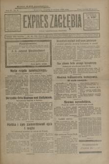 Expres Zagłębia : organ demokratyczny niezależny. R.4, nr 3 (3 stycznia 1929)