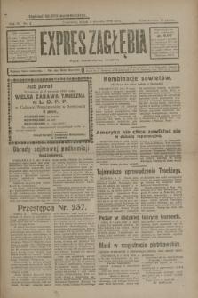 Expres Zagłębia : organ demokratyczny niezależny. R.4, nr 4 (4 stycznia 1929)