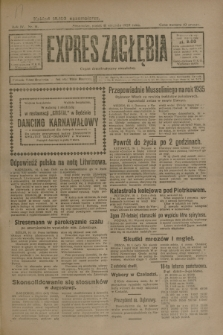 Expres Zagłębia : organ demokratyczny niezależny. R.4, nr 11 (11 stycznia 1929)