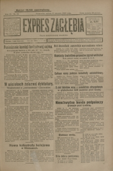 Expres Zagłębia : organ demokratyczny niezależny. R.4, nr 12 (12 stycznia 1929)