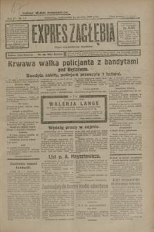 Expres Zagłębia : organ demokratyczny niezależny. R.4, nr 14 (14 stycznia 1929)