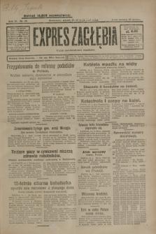 Expres Zagłębia : organ demokratyczny niezależny. R.4, nr 15 (15 stycznia 1929)