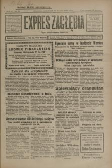 Expres Zagłębia : organ demokratyczny niezależny. R.4, nr 21 (21 stycznia 1929)