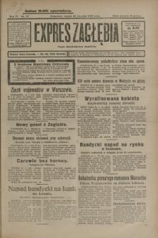 Expres Zagłębia : organ demokratyczny niezależny. R.4, nr 22 (22 stycznia 1929)