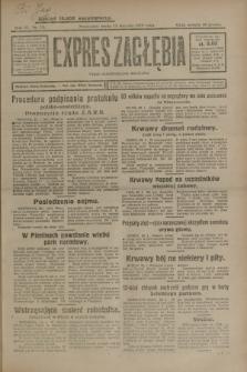 Expres Zagłębia : organ demokratyczny niezależny. R.4, nr 23 (23 stycznia 1929)