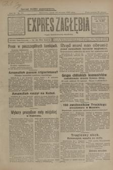 Expres Zagłębia : organ demokratyczny niezależny. R.4, nr 25 (25 stycznia 1929)