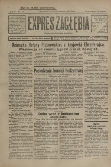Expres Zagłębia : organ demokratyczny niezależny. R.4, nr 26 (26 stycznia 1929)