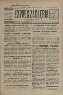 Expres Zagłębia : organ demokratyczny niezależny. R.4, nr 29 (29 stycznia 1929)