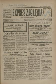 Expres Zagłębia : organ demokratyczny niezależny. R.4, nr 33 (2 lutego 1929)