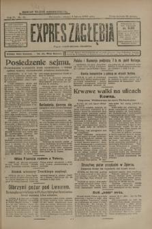 Expres Zagłębia : organ demokratyczny niezależny. R.4, nr 35 (5 lutego 1929)