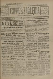 Expres Zagłębia : organ demokratyczny niezależny. R.4, nr 38 (8 lutego 1929)