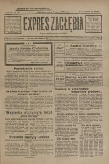 Expres Zagłębia : organ demokratyczny niezależny. R.4, nr 39 (9 lutego 1929)