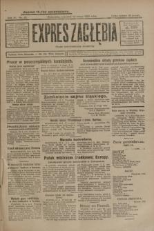 Expres Zagłębia : organ demokratyczny niezależny. R.4, nr 43 (14 lutego 1929)