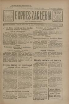 Expres Zagłębia : organ demokratyczny niezależny. R.4, nr 47 (18 lutego 1929)