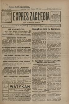 Expres Zagłębia : organ demokratyczny niezależny. R.4, nr 48 (19 lutego 1929)