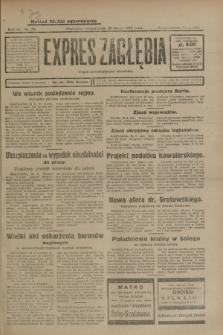 Expres Zagłębia : organ demokratyczny niezależny. R.4, nr 54 (25 lutego 1929)