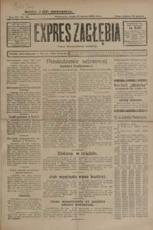 Expres Zagłębia : organ demokratyczny niezależny. R.4, nr 70 (13 marca 1929)