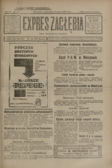 Expres Zagłębia : organ demokratyczny niezależny. R.4, nr 75 (18 marca 1929)