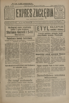Expres Zagłębia : organ demokratyczny niezależny. R.4, nr 79 (22 marca 1929)