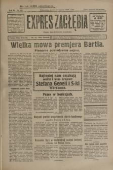 Expres Zagłębia : organ demokratyczny niezależny. R.4, nr 80 (23 marca 1929)