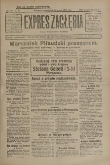Expres Zagłębia : organ demokratyczny niezależny. R.4, nr 82 (25 marca 1929)