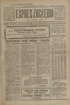 Expres Zagłębia : organ demokratyczny niezależny. R.4, nr 83 (26 marca 1929)