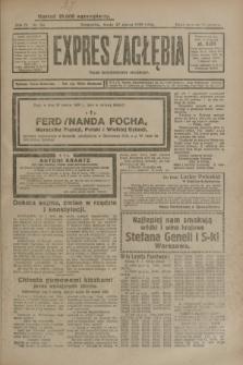 Expres Zagłębia : organ demokratyczny niezależny. R.4, nr 84 (27 marca 1929)