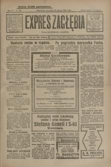 Expres Zagłębia : organ demokratyczny niezależny. R.4, nr 85 (28 marca 1929)