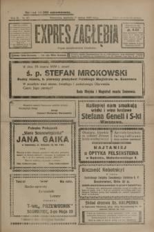 Expres Zagłębia : organ demokratyczny niezależny. R.4, nr 87 (31 marca 1929) + wkładka