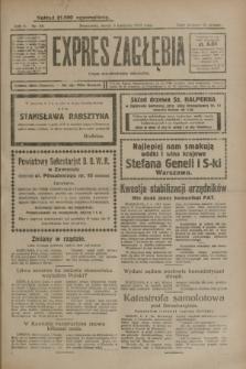 Expres Zagłębia : organ demokratyczny niezależny. R.4, nr 88 (3 kwietnia 1929)