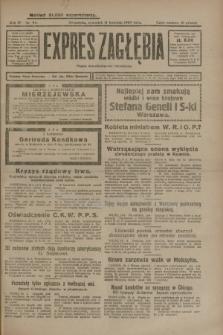 Expres Zagłębia : organ demokratyczny niezależny. R.4, nr 96 (11 kwietnia 1929)